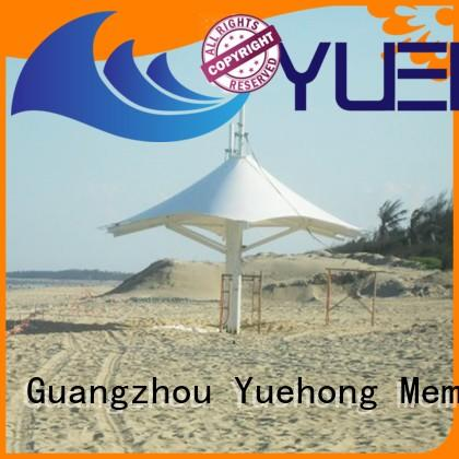 Yuehong awning tensile fabric structure stable structure for playgrounds