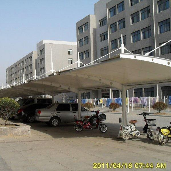 PTFE tent shade mobile tensile fabric membrane structure for stadium