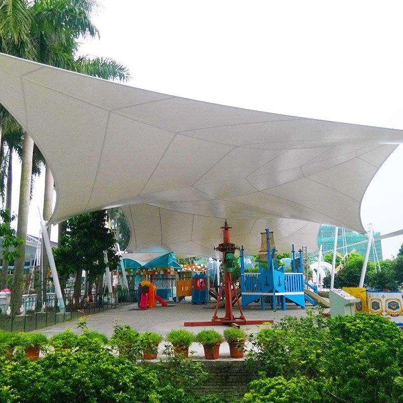 Landscape Stretching Sunshade Structure