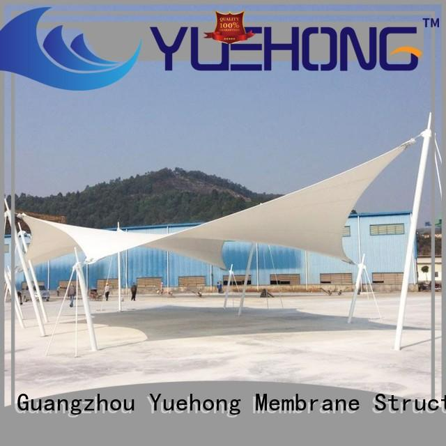 Yuehong membrane architecture high economy for commercial streets