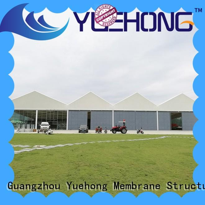 Yuehong tensile structure manufacturer large span for swimming pools