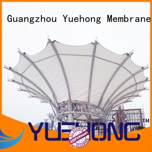 Yuehong landscape tension membrane structures for leisure for schools