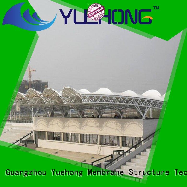 Yuehong durable canopy for car parking manufacturer for badminton courts
