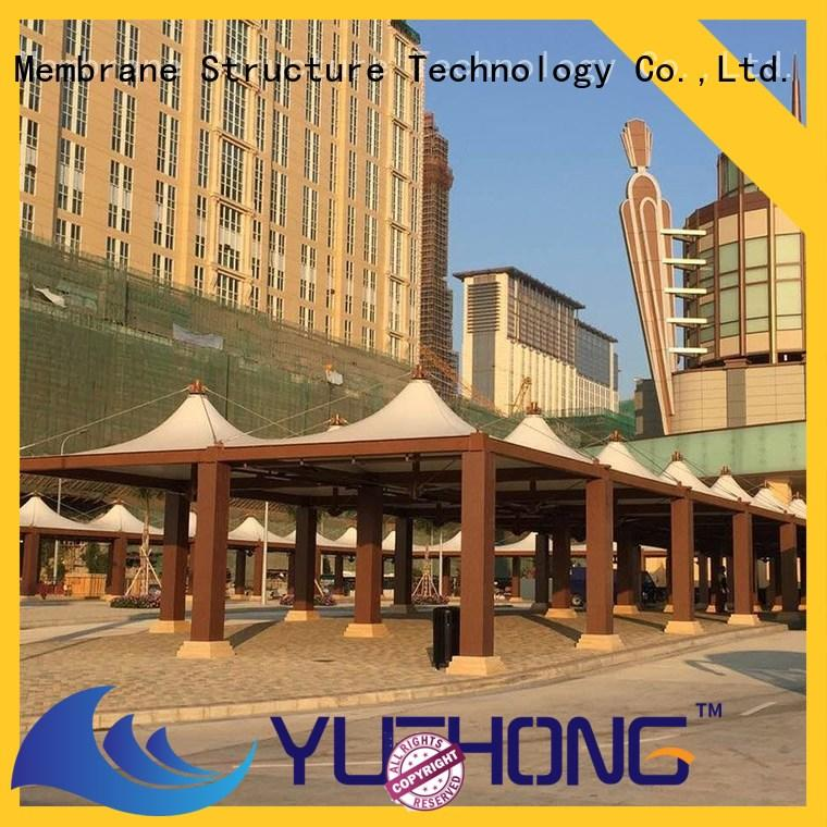 Yuehong high strength car parking shades suppliers shading for schools