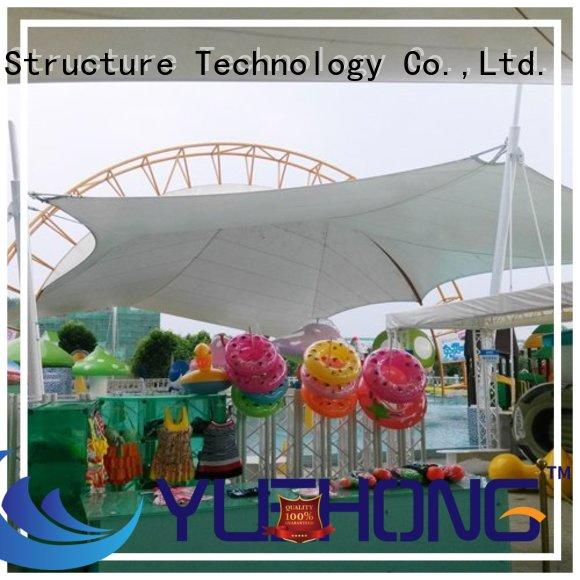 Yuehong colorful air supported structures directly sale for leisure plazas