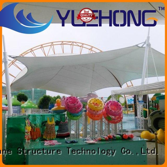 durable fabric shade structures spherical directly sale for landscapes