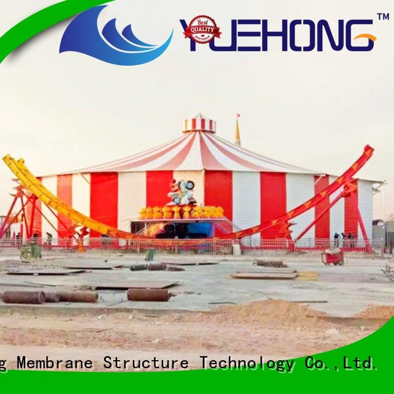 Yuehong high quality tensile structure material short construction period for swimming pools