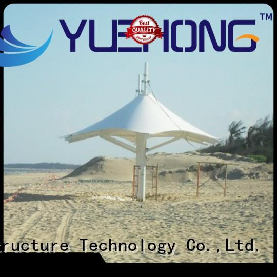 Yuehong shading tension membrane structures simple shape for landscapes