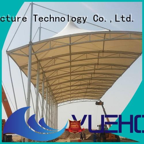 Yuehong free membrane structure architecture factory price for badminton courts