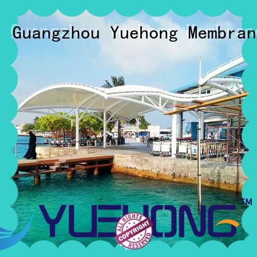 Yuehong cover air supported structures stable structure for parks