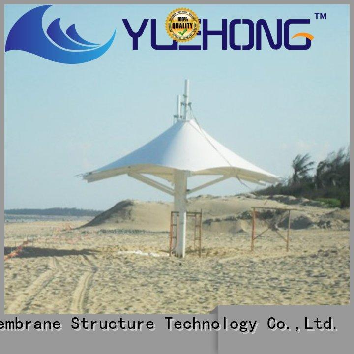 Yuehong gazebo fabric structures stable structure for schools