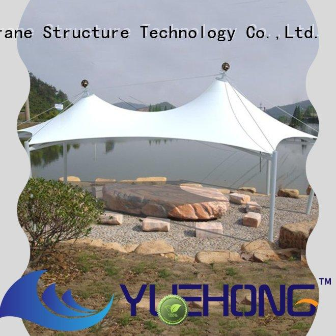Yuehong tensile membrane architecture high economy for swimming pools