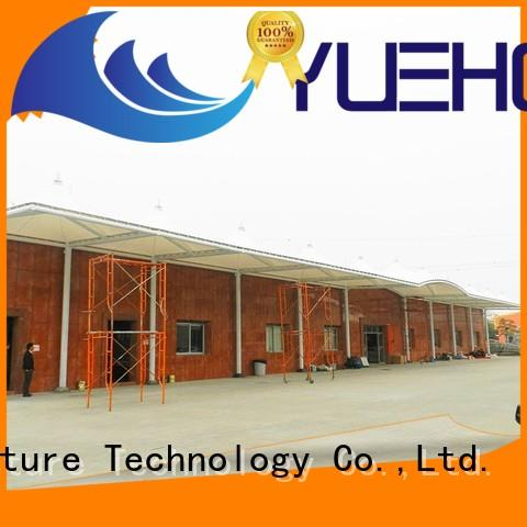 Yuehong sun-shaded car parking shade manufacturers shading for schools