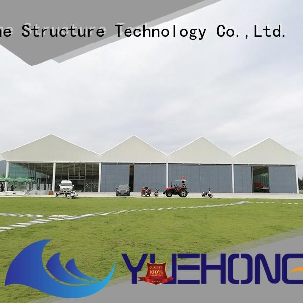 Yuehong stable outdoor structures shelters & canopies high economy for industrial for warehouses