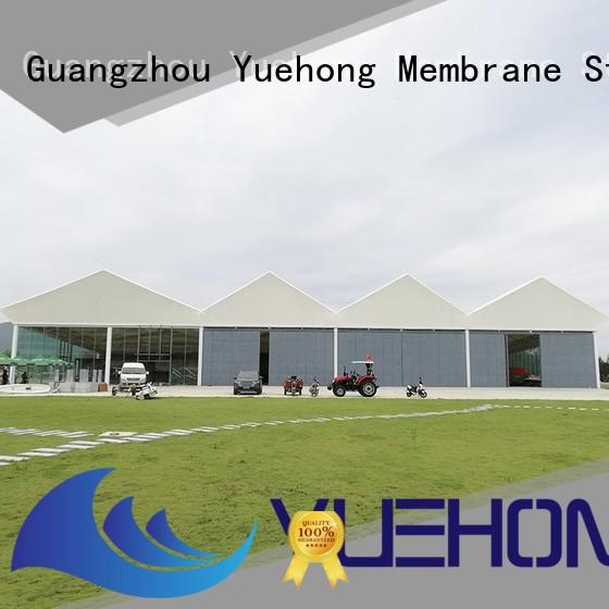 Yuehong largescale tensile structure manufacturer wholesale for gymnasiums