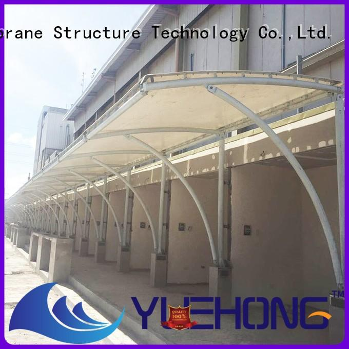 Yuehong tension fabric structure high economy for gymnasiums