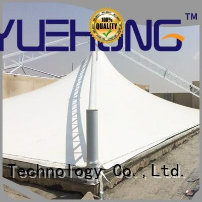 Yuehong marquee tension fabric structure directly price for gymnasiums