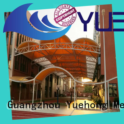 utility fabric shade structures fabric awnings for volleyball courts