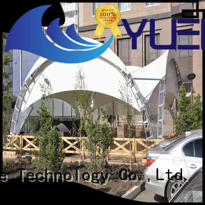 Yuehong tension types of tensile structures factory price for landscapes