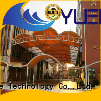 Yuehong atmospheric canopy for car parking awnings for badminton courts